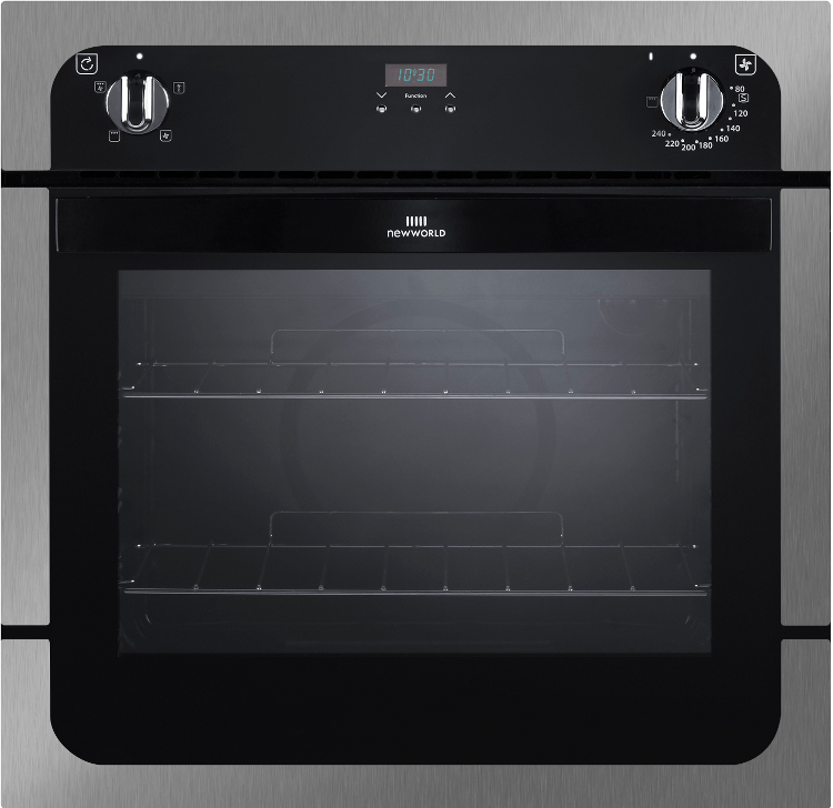 New World NW601FP Stainless Steel Single Built In Electric Oven