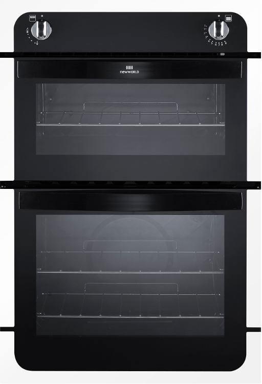 New World NW901G White Built In Gas Oven Separate Grill