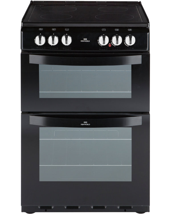 New World NW 551ETC Black Ceramic  Electric Cooker Separate Grill