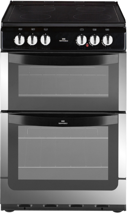 New World NW 551ETC Stainless Steel Ceramic Electric Cooker with Separate Grill