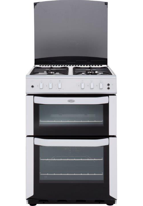 Belling FSG55TCF White Gas Cooker Separate Grill