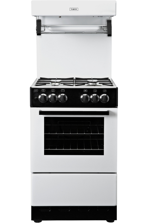 Gas Oven And Grill Part - 18: Valor V55HLG White Gas Cooker High Level Grill