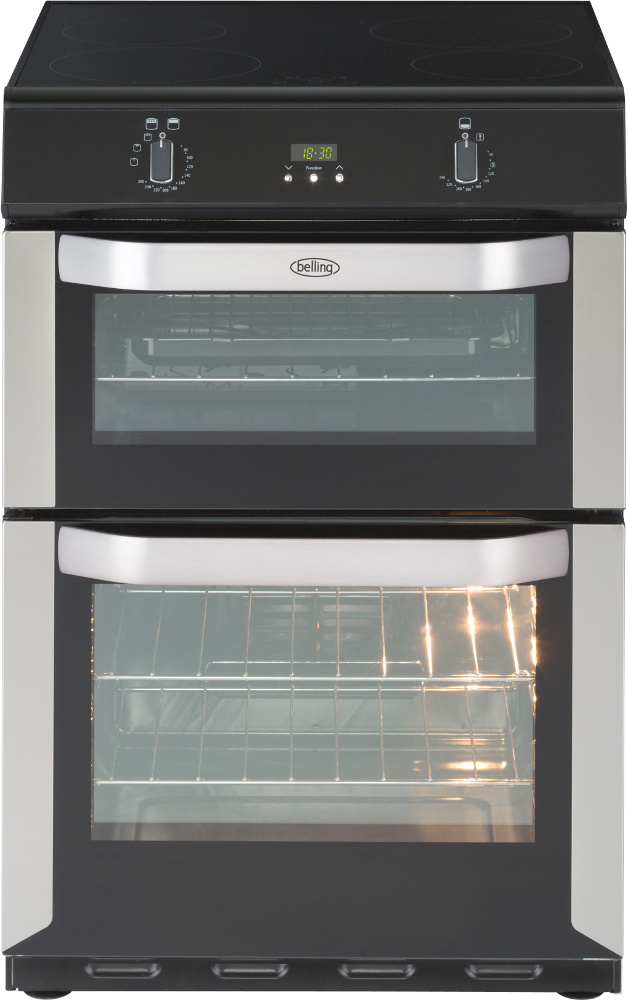 Belling FSE 60 DOTi Stainless Steel Electric Cooker with Double Oven