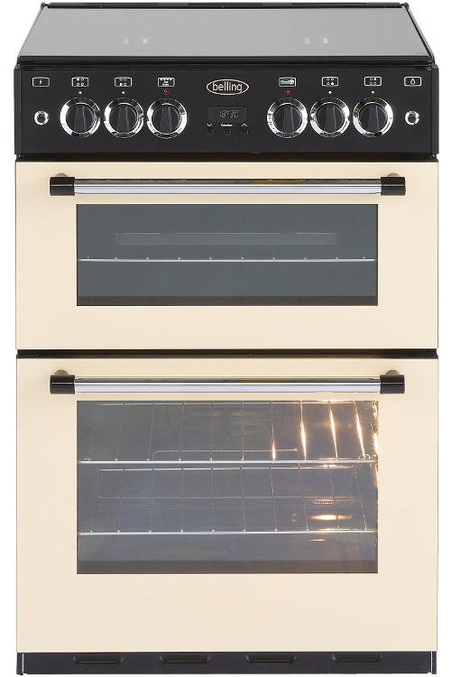 Belling Classic 60G Cream Gas Cooker with Double Oven