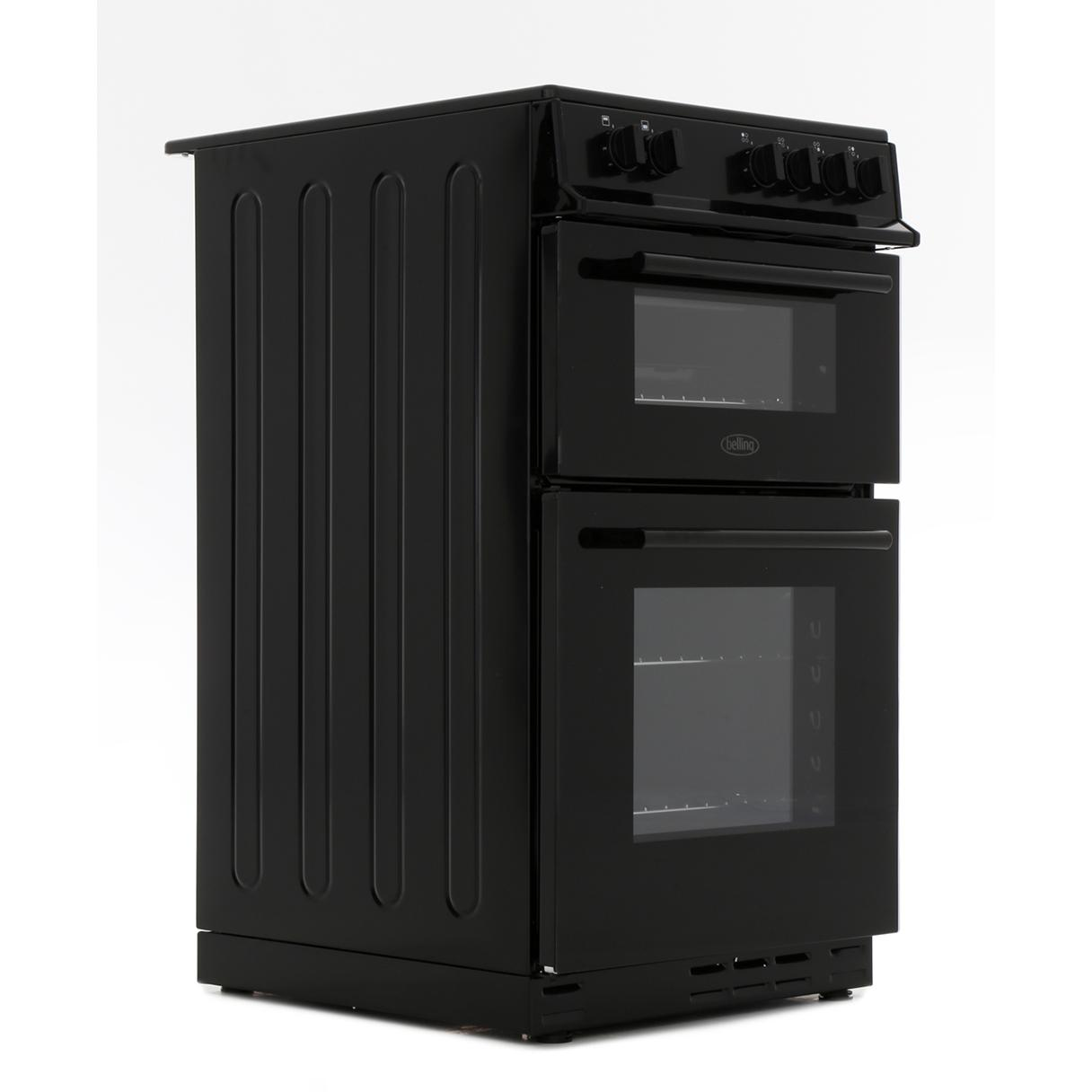 Belling FS50ET Black Electric Cooker Separate Grill