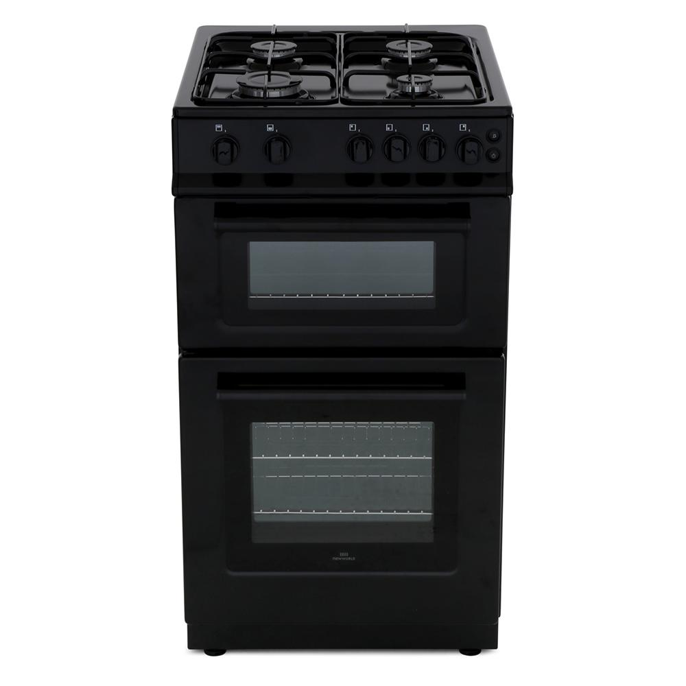 New World 50GTC Black Gas Cooker Separate Grill