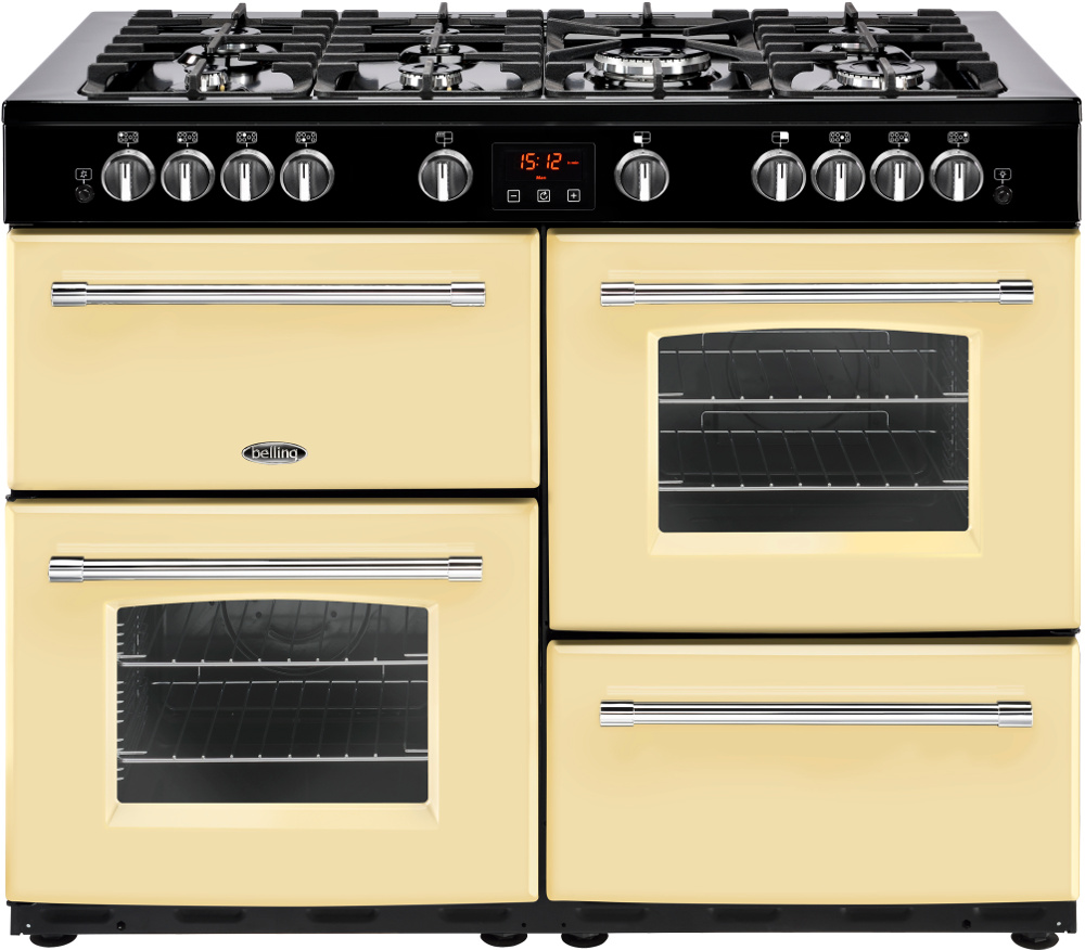 Belling Farmhouse 110GT Cream 110cm Gas Range Cooker