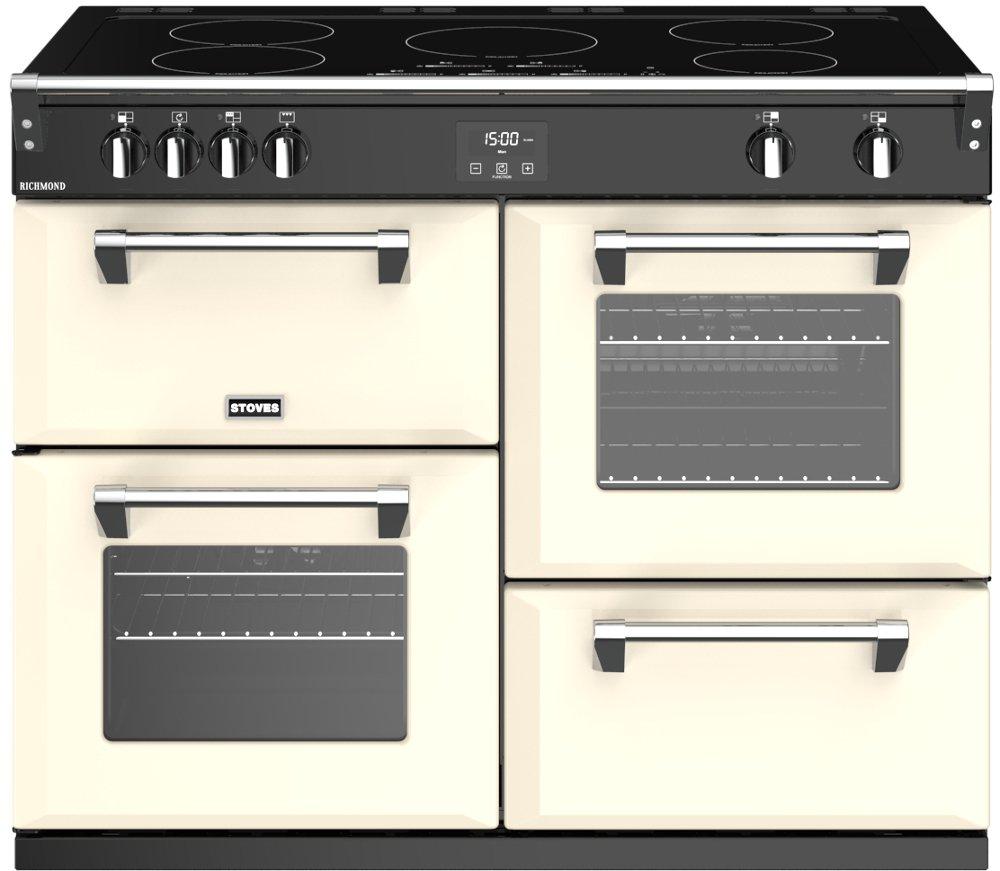 Stoves Richmond S1100Ei Classic Cream 110cm Electric Induction Range Cooker