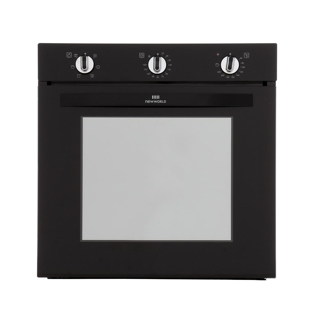 New World NW602F Black Single Built In Electric Oven