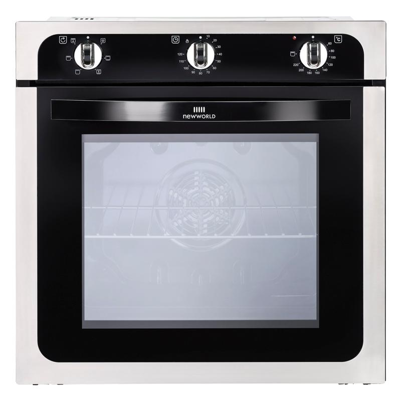 New World NW602F Stainless Steel Single Built In Electric Oven