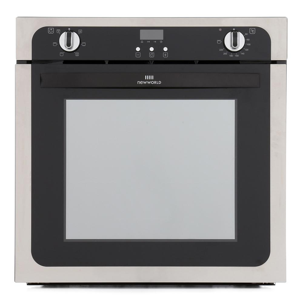 New World NW602FP Stainless Steel Single Built In Electric Oven