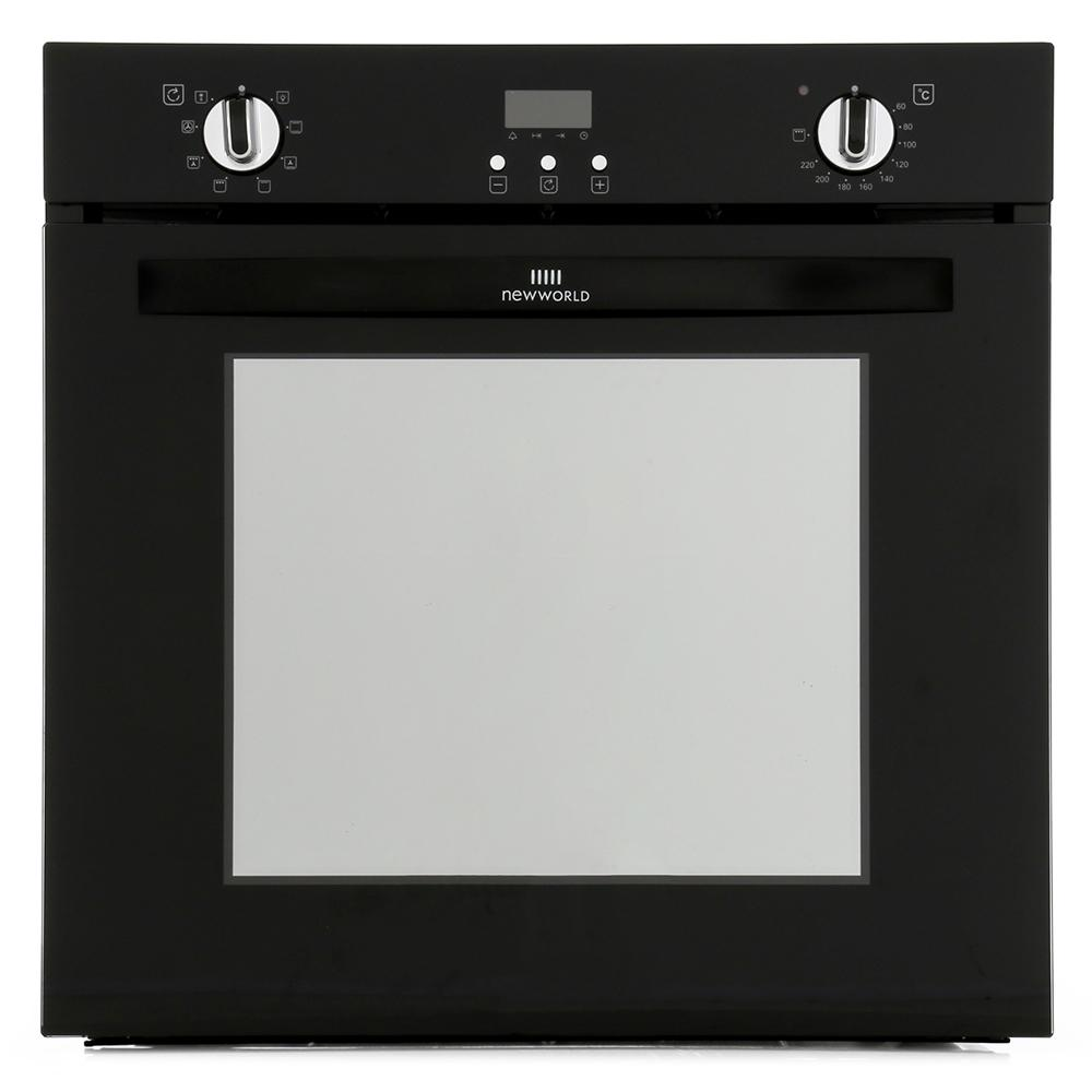 New World 602MF Black Single Built In Electric Oven