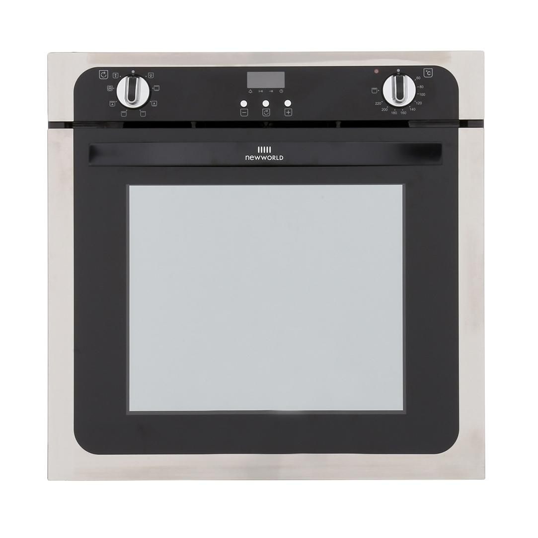 New World NW602MF Stainless Steel Single Built In Electric Oven