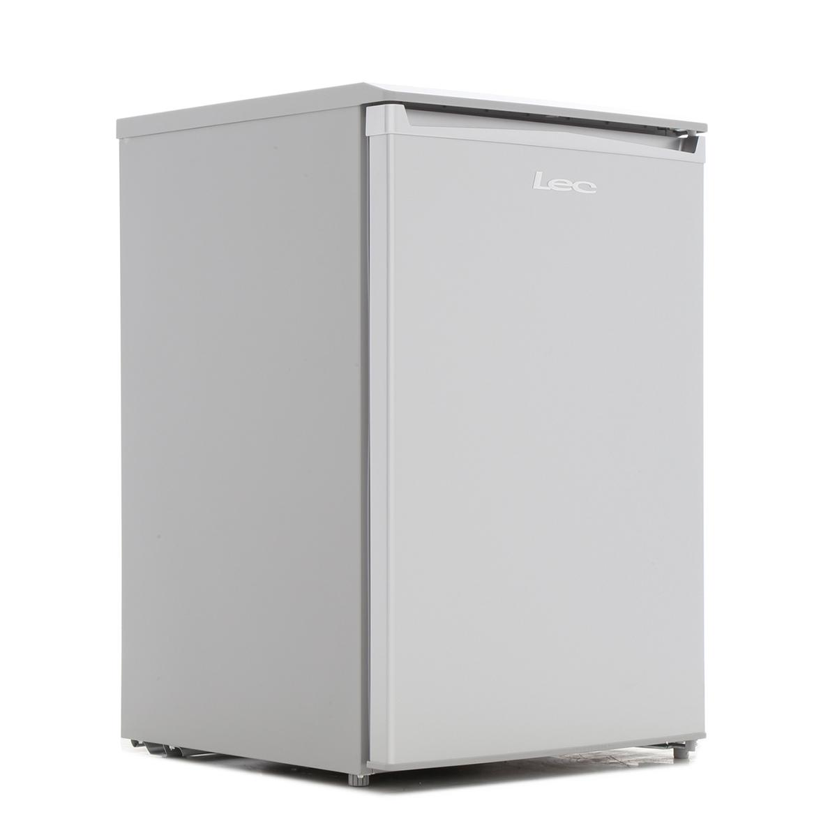 Lec R5517 Silver Fridge with Ice Box