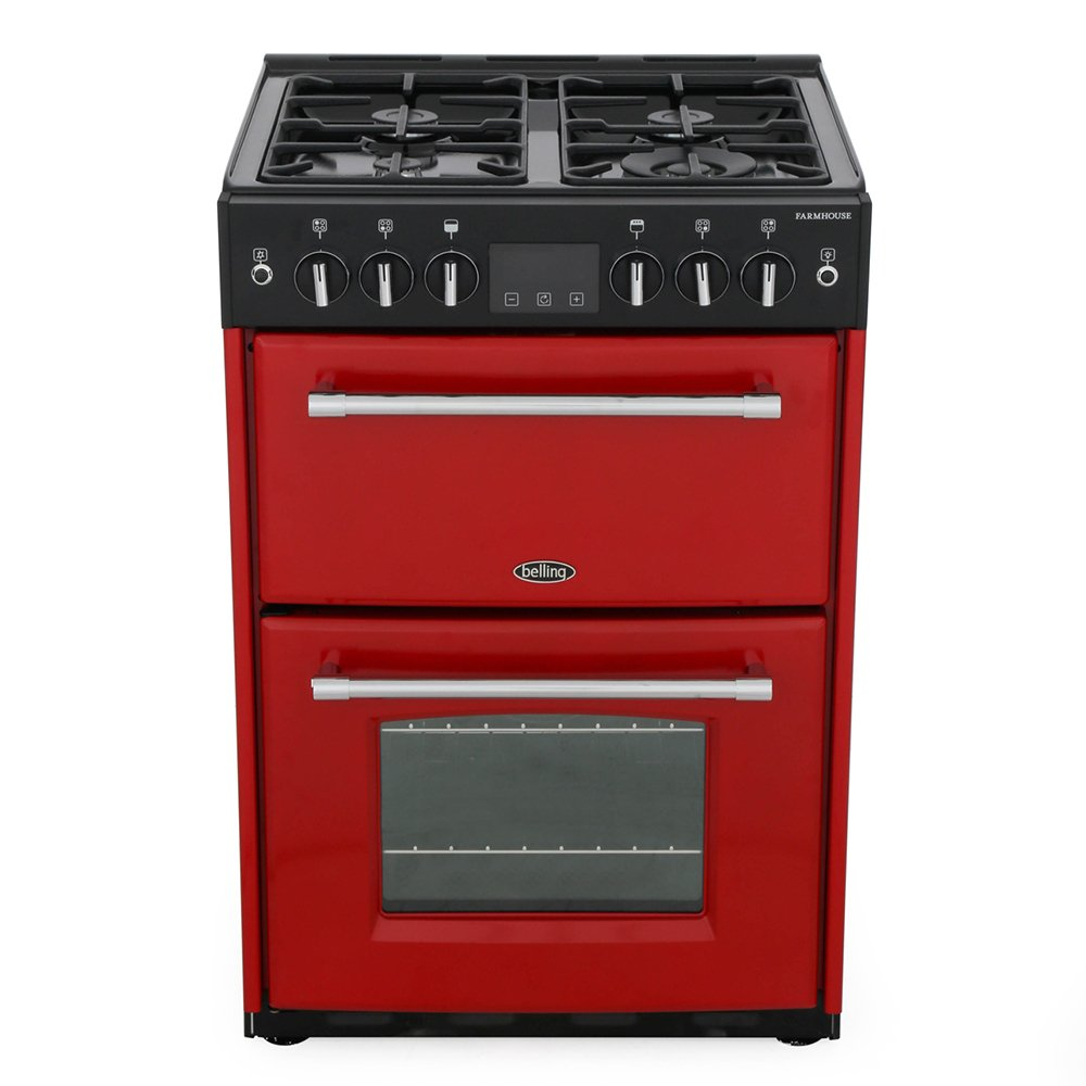Belling Farmhouse 60G Jalapeno Gas Cooker with Double Oven