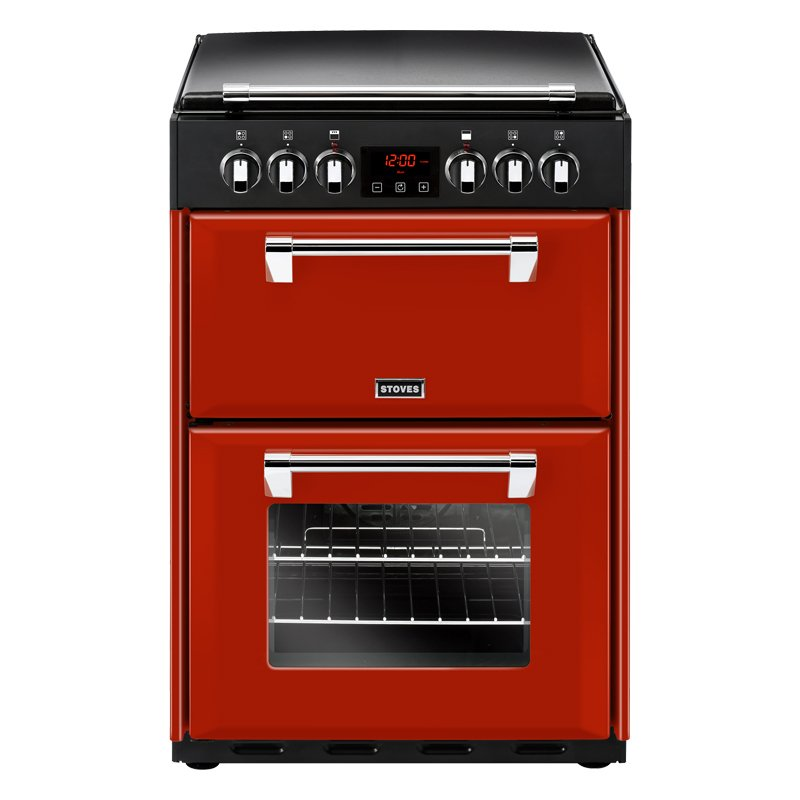 Stoves Richmond 600E Jalapeno Ceramic Electric Cooker with Double Oven