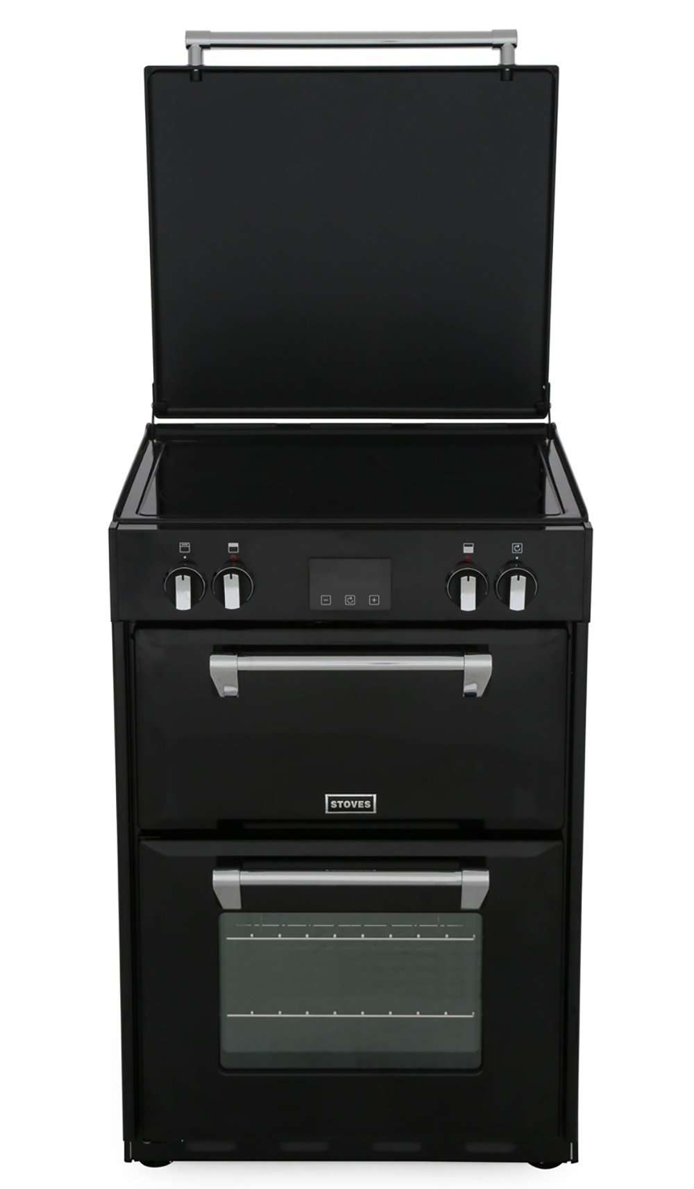 Stoves Richmond 600Ei Black Induction Electric Cooker with Double Oven