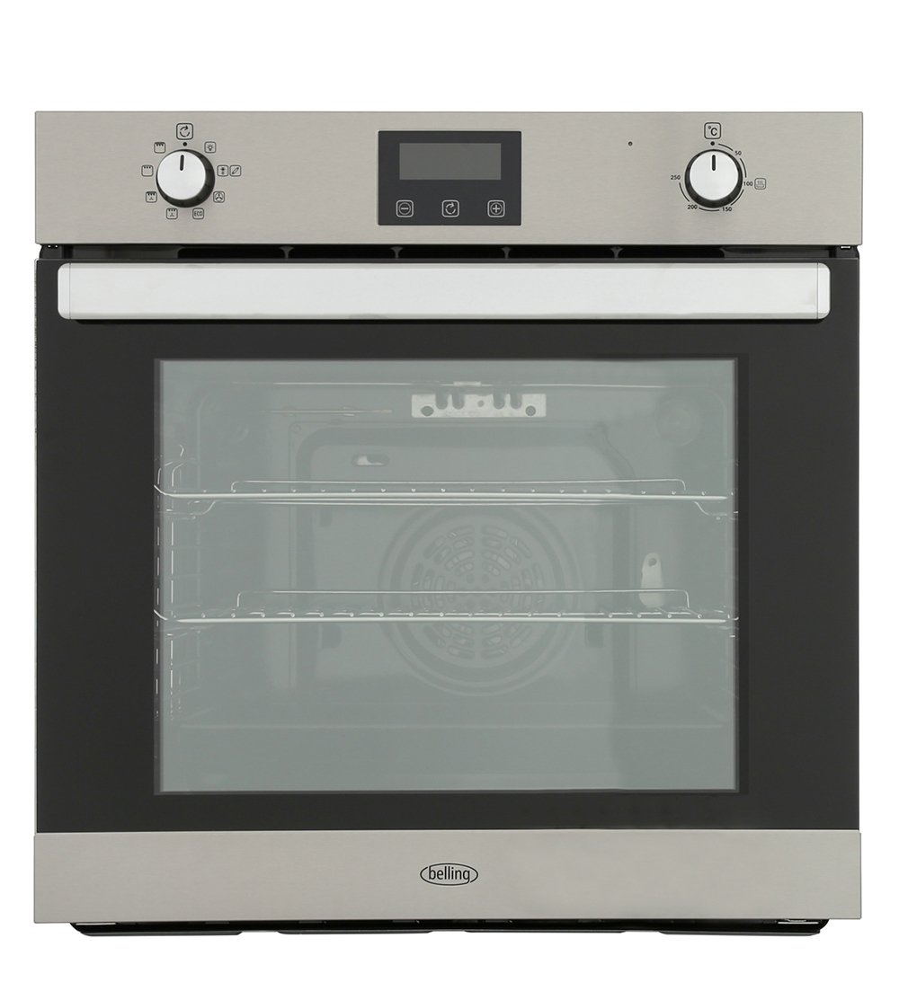 Belling BI602FPCT Stainless Steel Single Built In Electric Oven