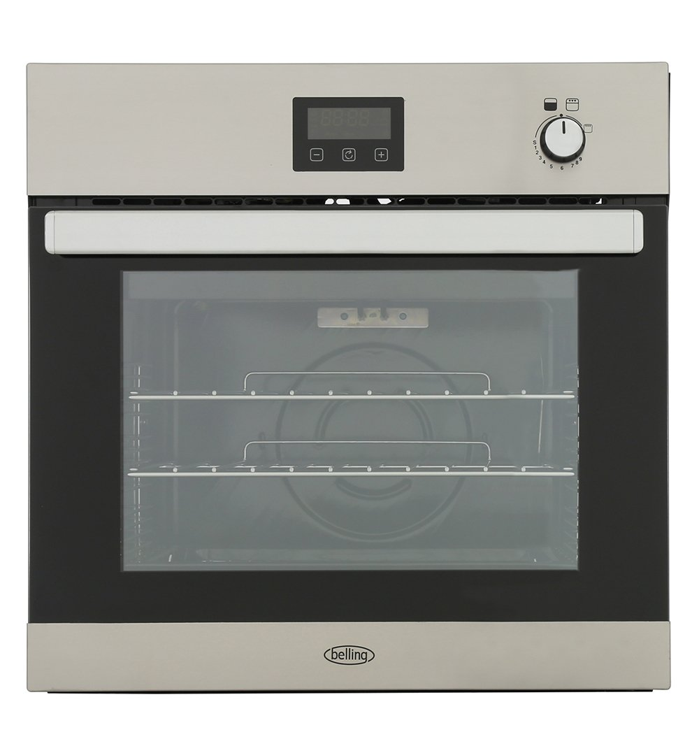 Belling BI602G Stainless Steel Single Built In Gas Oven