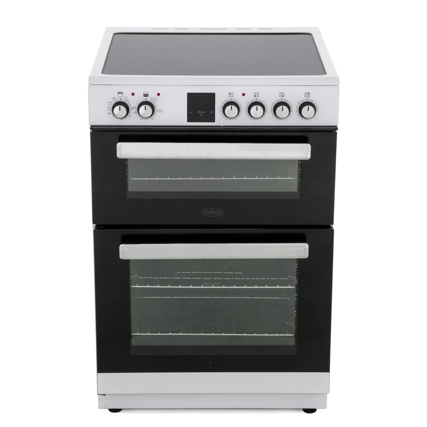Belling FSE608DPC Electric Cooker with Double Oven