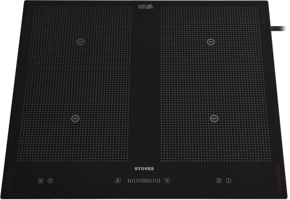 Stoves H2H BHIT601 Black Induction Hob