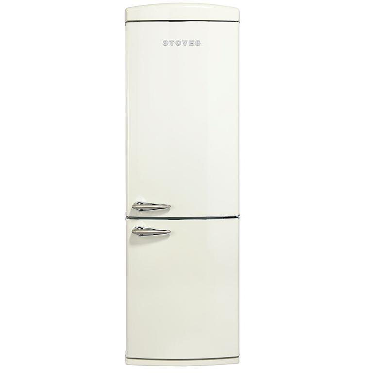 Stoves STR 60197 Cream Retro Fridge Freezer