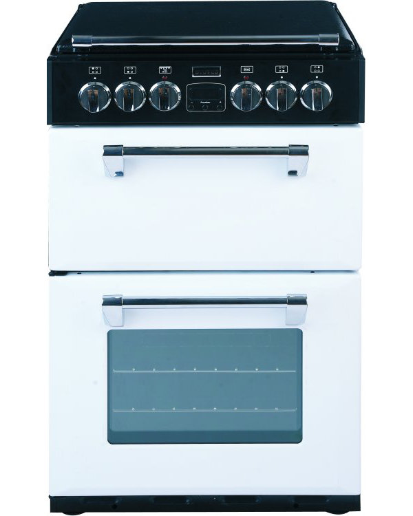 Stoves Richmond MiniRange 550E Icy Brook Ceramic Electric Cooker with Double Oven