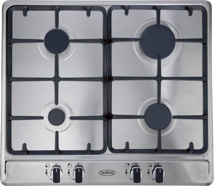 Kitchen Hob Side View ~ Buy belling ghu gc stainless steel mk burner gas hob