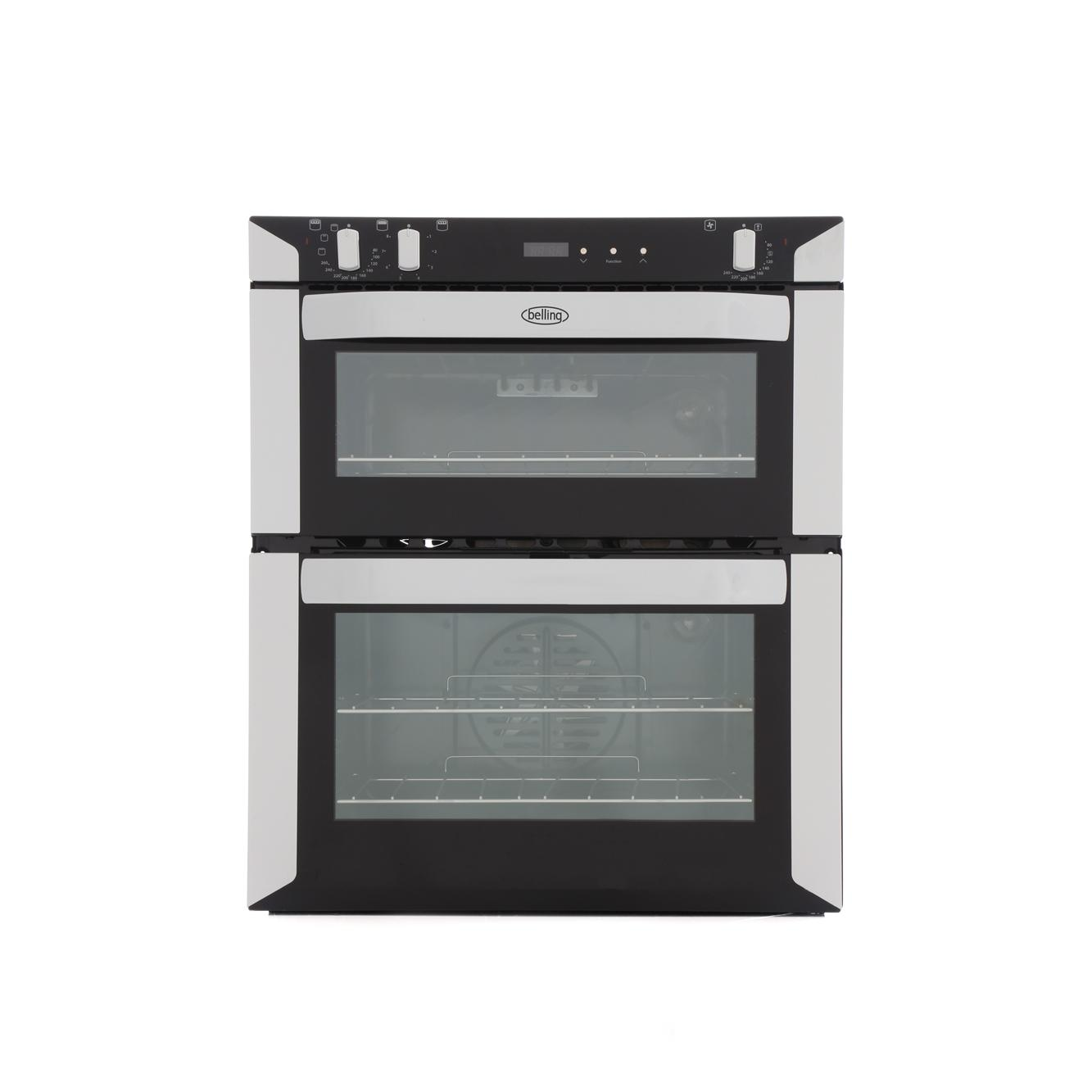 Belling BI70FP White Double Built Under Electric Oven