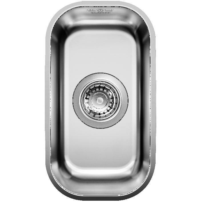 Blanco Supra 180-U Stainless Steel Undermount Sink
