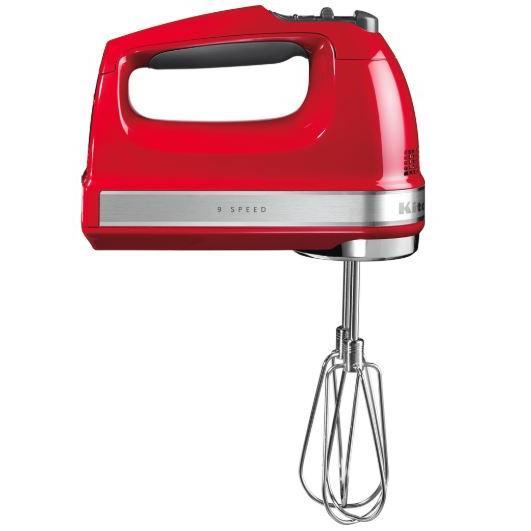 KitchenAid 5KHM9212BER 9 Speed Hand Mixer