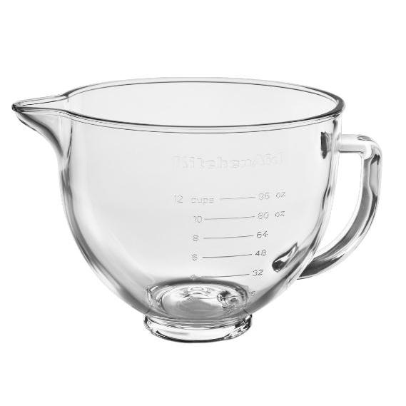 KitchenAid 5KSM5GB 4.7 Litre Glass Bowl