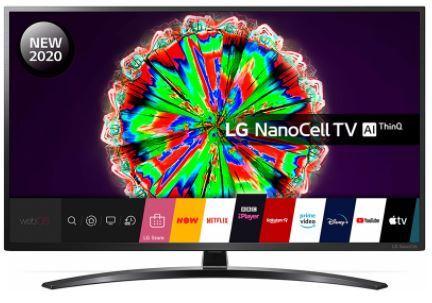 """LG 65NANO796NE 65"""" 4K NanoCell Smart Television"""