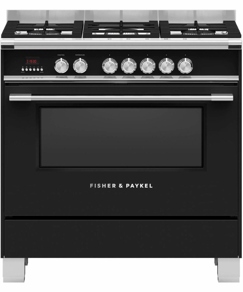 Fisher & Paykel Series 7 OR90SCG4B1 90cm Dual Fuel Range Cooker