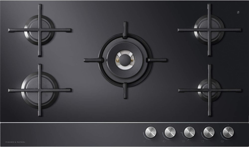 Fisher & Paykel Series 9 CG905DNGGB1 5 Burner Gas Hob