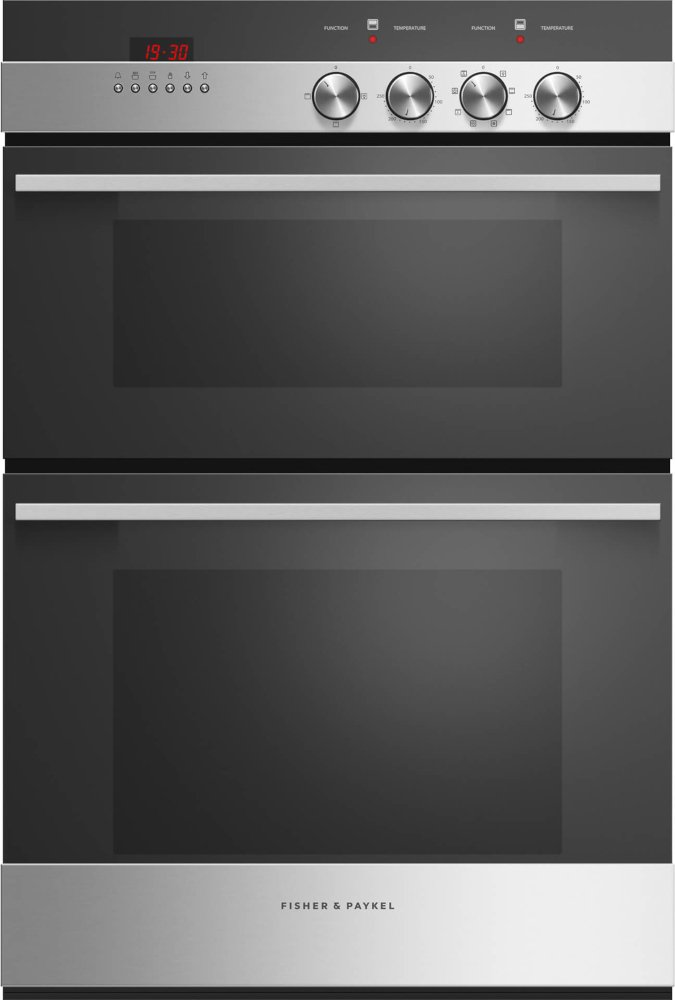 Fisher & Paykel Series 5 OB60BCEX4 Double Built In Electric Oven