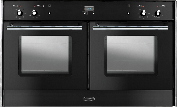 Black Built In Oven Part - 50: All Built In Range Cookers. Rangemaster Toledo Freestyle Double Oven Black  ...
