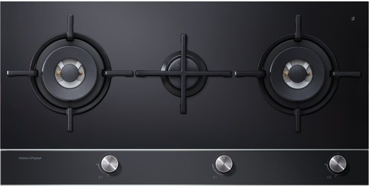 Fisher & Paykel CG903DNGGB1 3 Burner Gas Hob