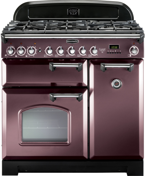 rangemaster classic deluxe rose taupe with chrome trim. Black Bedroom Furniture Sets. Home Design Ideas