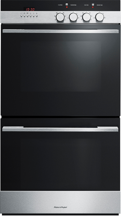 Fisher & Paykel Designer OB60DDEX4 Tower Double Built In Electric Oven