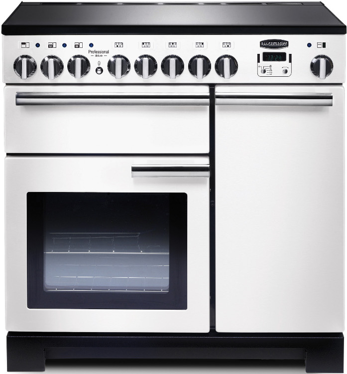 Buy Rangemaster PDL90EIWH/C Professional Deluxe White With