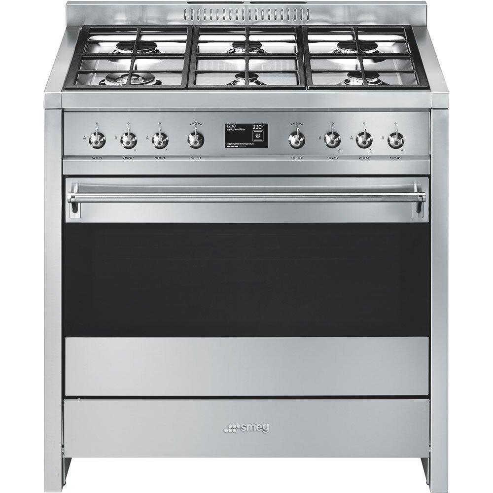 Smeg Opera A1-9 Dual Fuel Cooker