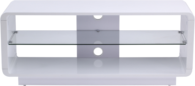 Alphason Luna ADLU1200WHT TV Stand