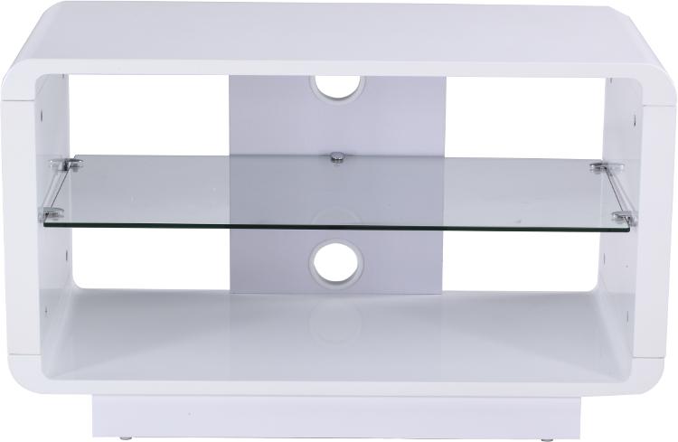 Alphason ADLU800WHT Luna TV Stand