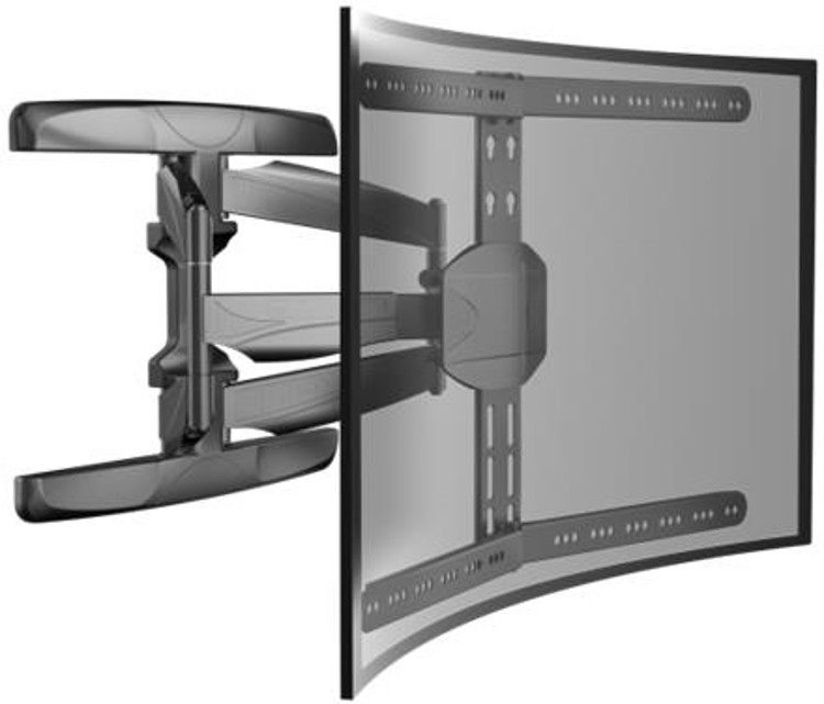Alphason ATVB661C Curved Multi Action TV Wall Bracket