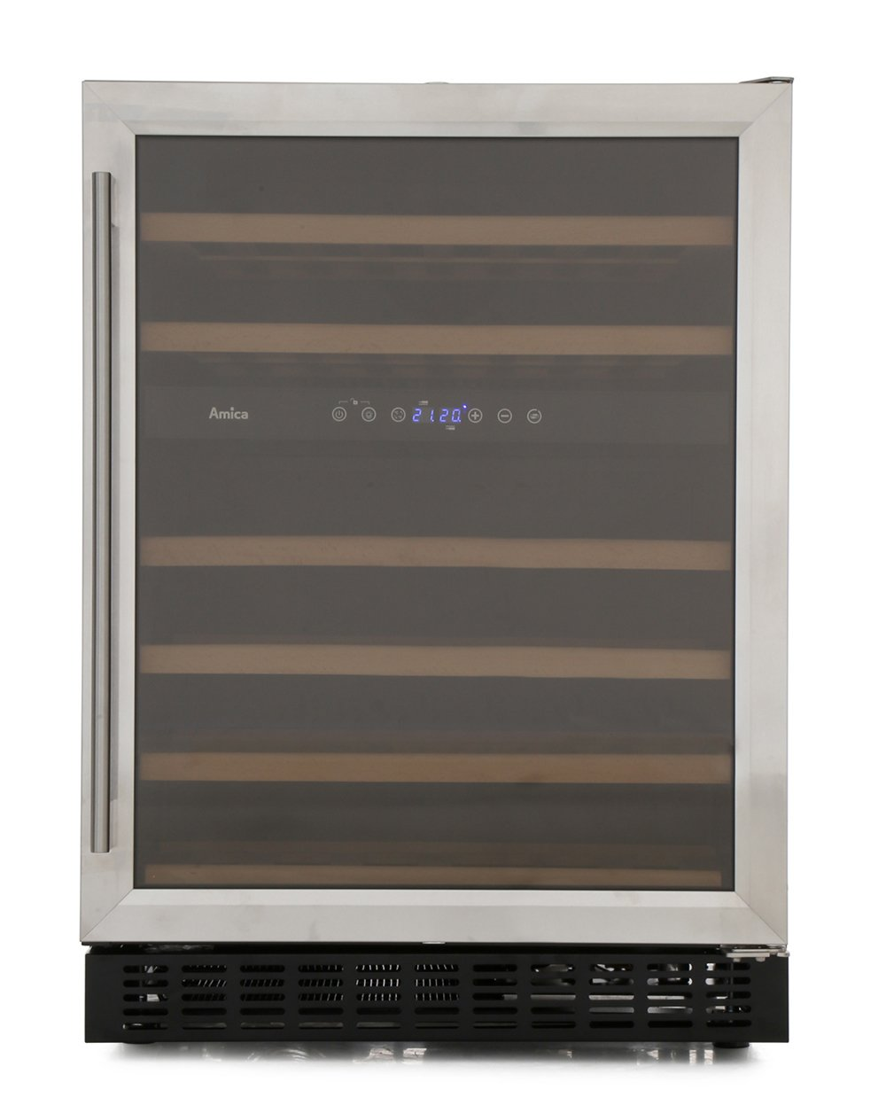 Amica AWC600SS Wine Cooler - Stainless Steel - B Rated