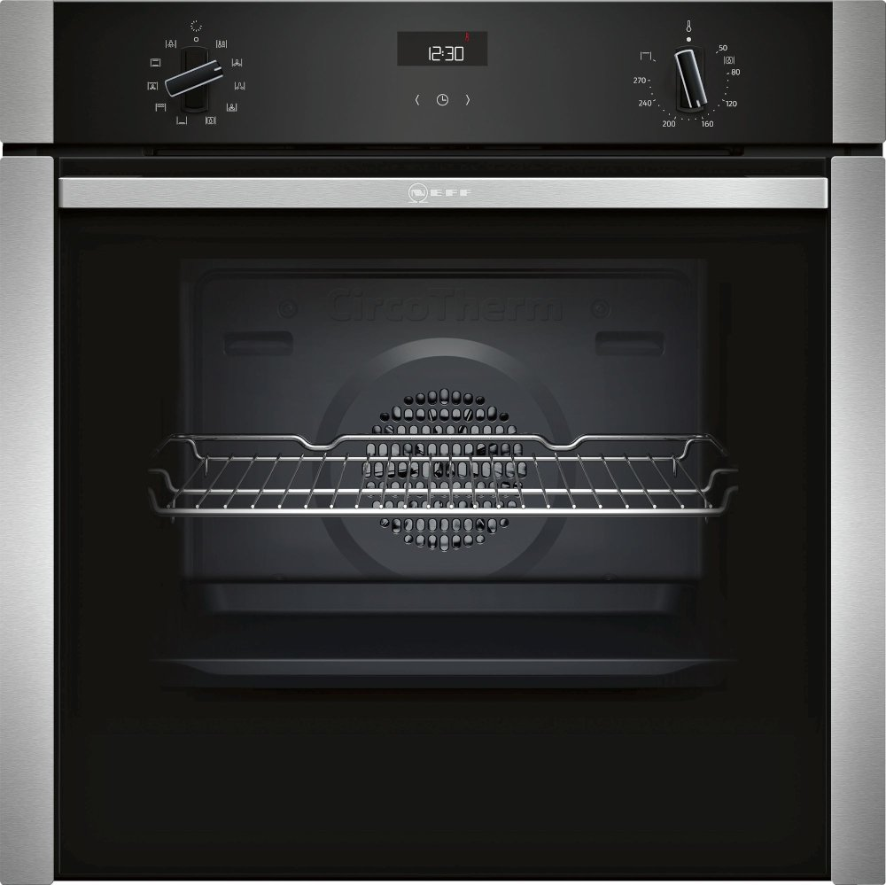 Neff N50 B3ACE4HN0B Single Built In Electric Oven