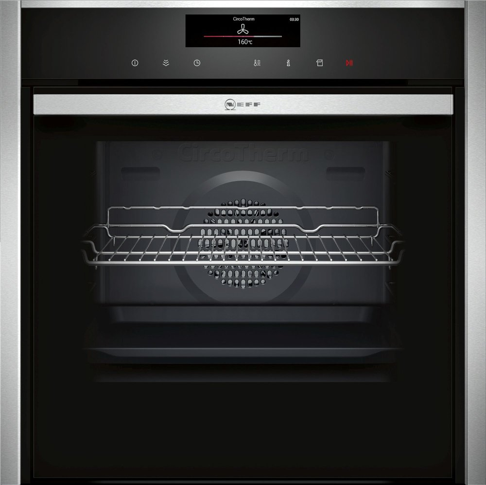Neff N90 B48FT78H0B Single Built In Electric Oven