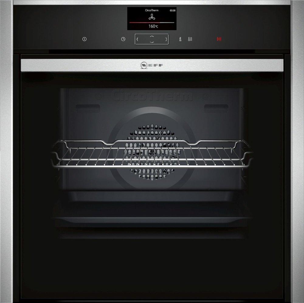 Neff N90 B57CS24H0B Single Built In Electric Oven