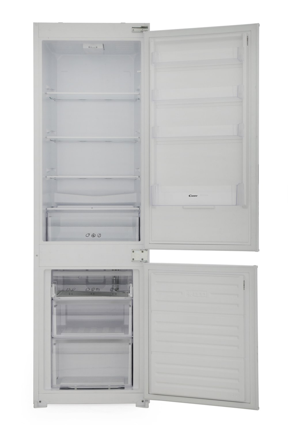Candy BCBS172TK Static Integrated Fridge Freezer